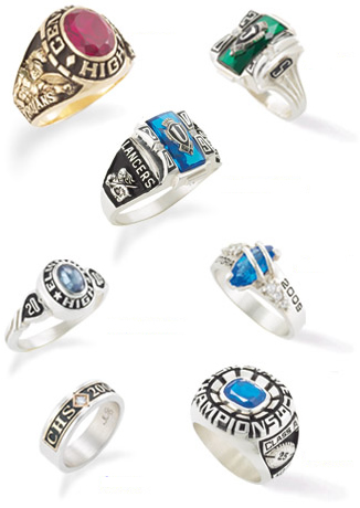 Custom College Class Rings Cheap